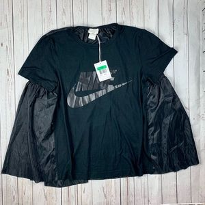 NEW NIKE NIKELAB X SACAI CAPE SHIRT SIZE XL
